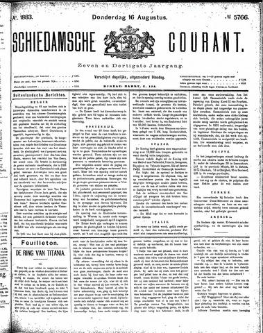 Schiedamsche Courant 1883-08-16