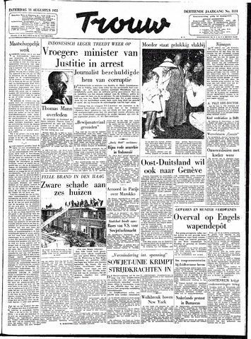 Trouw / De Rotterdammer 1955-08-13