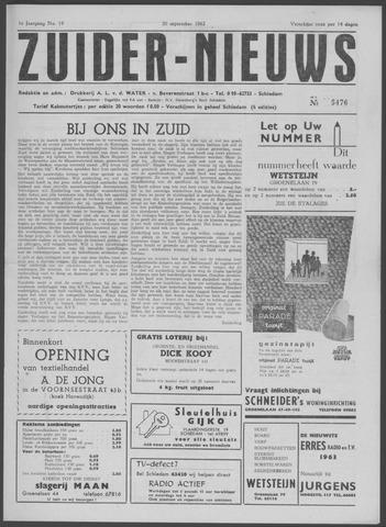 Zuider Nieuws 1962-09-20