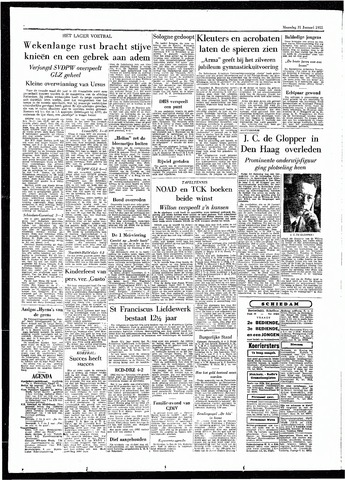 Rotterdamsch Parool / De Schiedammer 1955-01-31