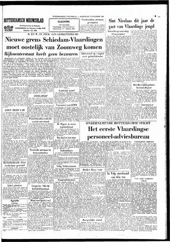 Rotterdamsch Nieuwsblad / Schiedamsche Courant / Rotterdams Dagblad / Waterweg / Algemeen Dagblad 1965-11-03