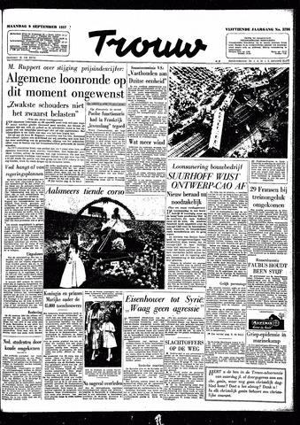 Trouw / De Rotterdammer 1957-09-09