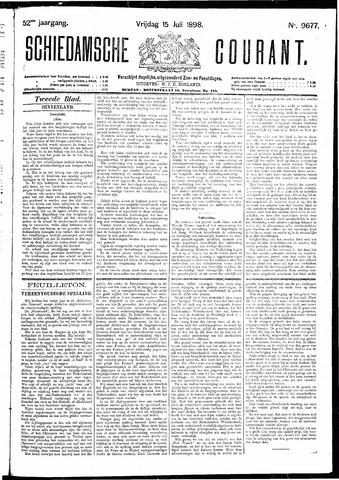 Schiedamsche Courant 1898-07-15