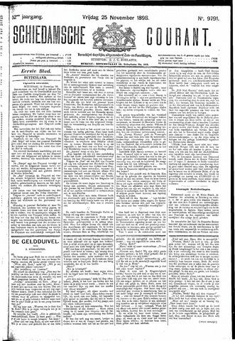 Schiedamsche Courant 1898-11-25