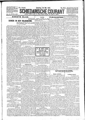 Schiedamsche Courant 1931-05-23