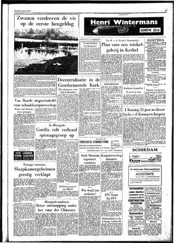 Rotterdamsch Parool / De Schiedammer 1961-06-03