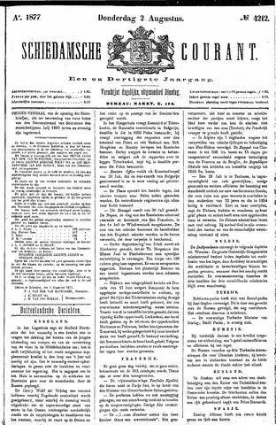 Schiedamsche Courant 1877-08-02