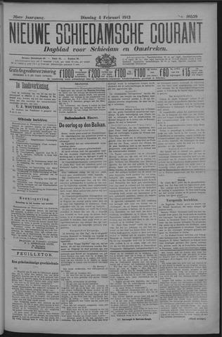 Nieuwe Schiedamsche Courant 1913-02-04