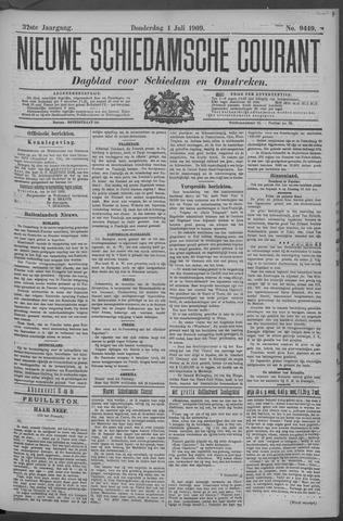 Nieuwe Schiedamsche Courant 1909-07-01
