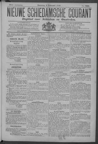 Nieuwe Schiedamsche Courant 1909-02-06