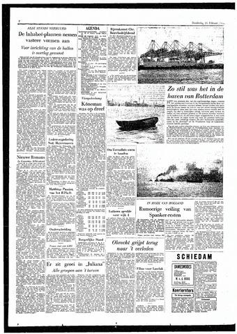 Rotterdamsch Parool / De Schiedammer 1955-02-24