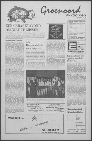 Groenoord Akkoorden 1970-01-22
