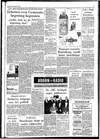 Rotterdamsch Parool / De Schiedammer 1961-11-25