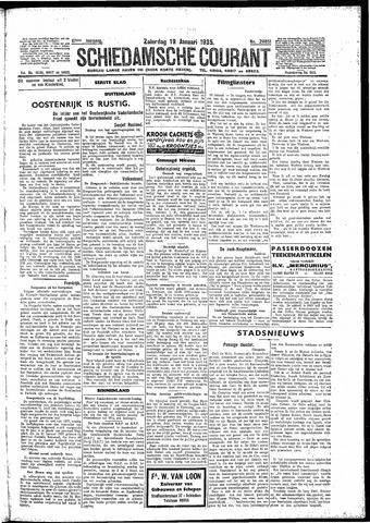 Schiedamsche Courant 1935-01-19