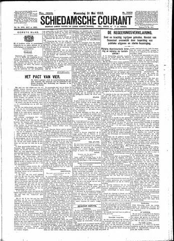 Schiedamsche Courant 1933-05-31