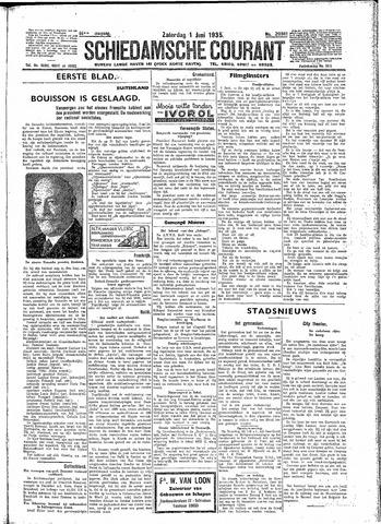 Schiedamsche Courant 1935-06-01