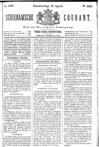 Schiedamsche Courant 1877-04-12
