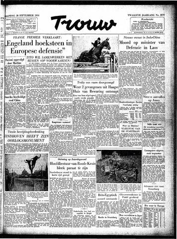 Trouw / De Rotterdammer 1954-09-20