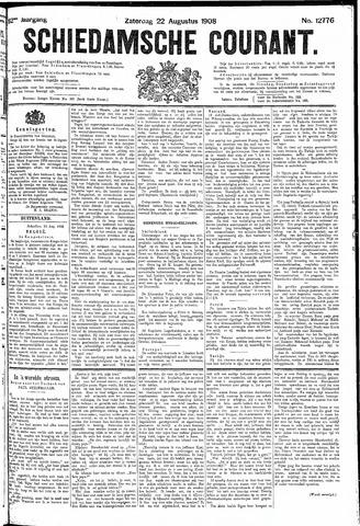 Schiedamsche Courant 1908-08-22