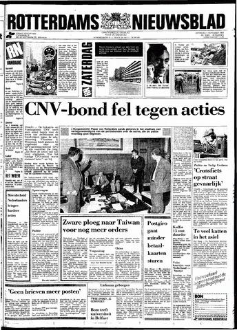 Rotterdamsch Nieuwsblad / Schiedamsche Courant / Rotterdams Dagblad / Waterweg / Algemeen Dagblad 1983-11-05