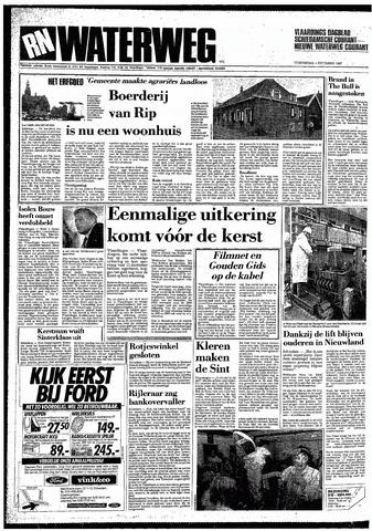 Rotterdamsch Nieuwsblad / Schiedamsche Courant / Rotterdams Dagblad / Waterweg / Algemeen Dagblad 1987-12-03