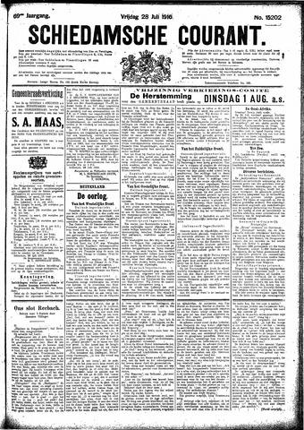 Schiedamsche Courant 1916-07-28