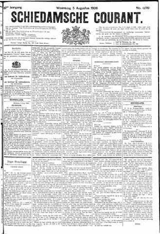 Schiedamsche Courant 1908-08-05