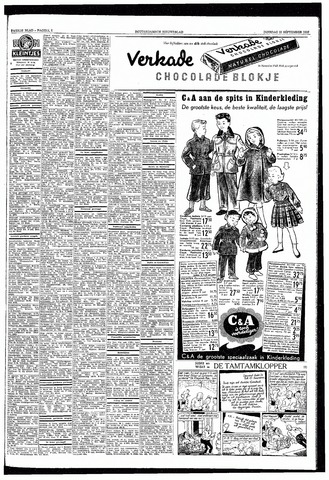 Rotterdamsch Nieuwsblad / Schiedamsche Courant / Rotterdams Dagblad / Waterweg / Algemeen Dagblad 1953-09-22