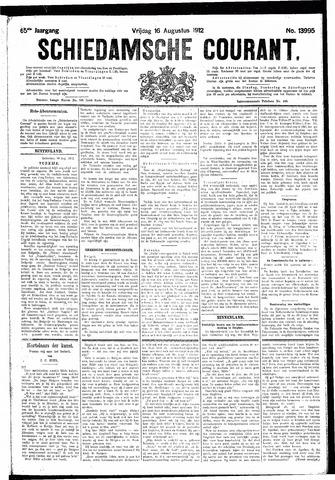 Schiedamsche Courant 1912-08-16