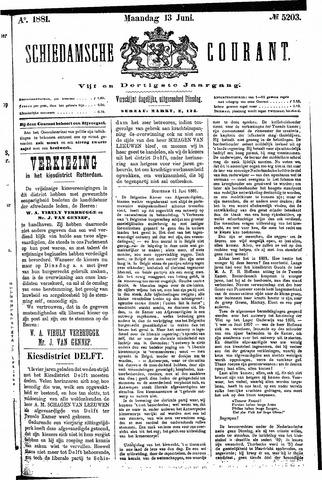 Schiedamsche Courant 1881-06-13