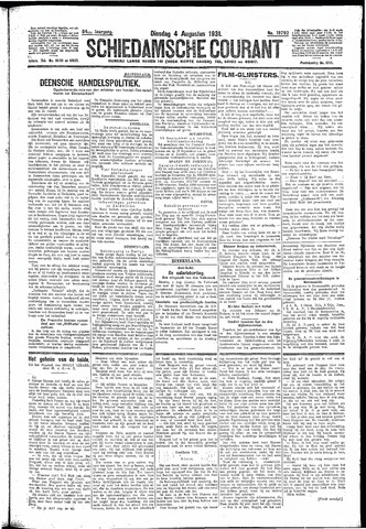 Schiedamsche Courant 1931-08-04