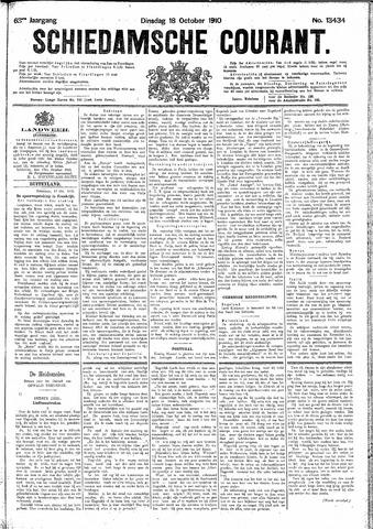 Schiedamsche Courant 1910-10-18
