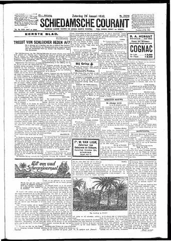 Schiedamsche Courant 1933-01-28