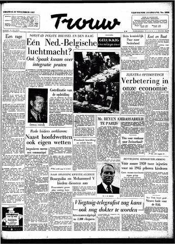 Trouw / De Rotterdammer 1957-11-22
