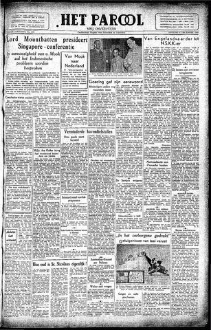 Rotterdamsch Parool / De Schiedammer 1945-12-04