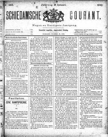Schiedamsche Courant 1885-01-31