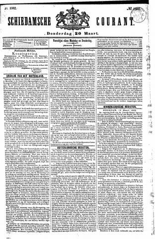 Schiedamsche Courant 1862-03-20