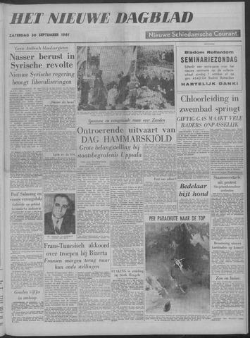 Nieuwe Schiedamsche Courant 1961-09-30
