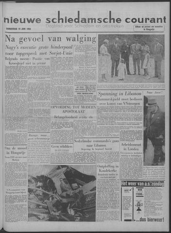Nieuwe Schiedamsche Courant 1958-06-19