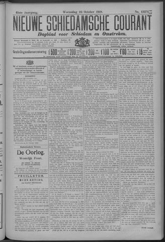 Nieuwe Schiedamsche Courant 1918-10-23
