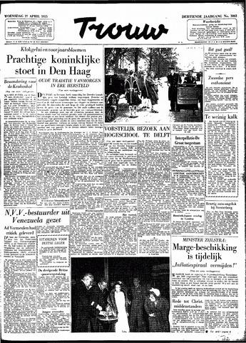 Trouw / De Rotterdammer 1955-04-27