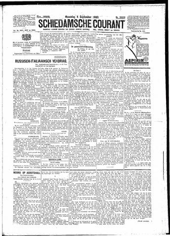 Schiedamsche Courant 1933-09-04