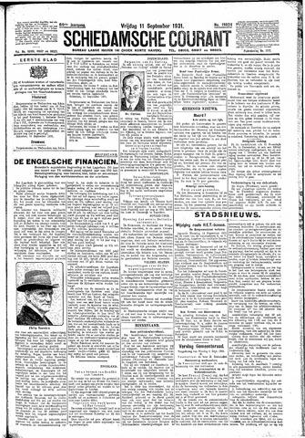 Schiedamsche Courant 1931-09-11