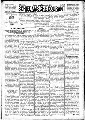 Schiedamsche Courant 1927-09-22