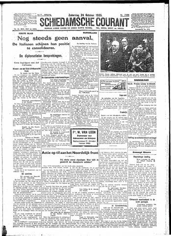 Schiedamsche Courant 1935-10-26