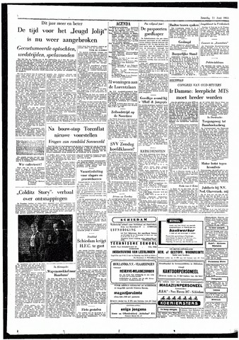 Rotterdamsch Parool / De Schiedammer 1955-06-11