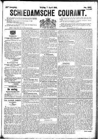 Schiedamsche Courant 1916-04-07