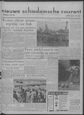 Nieuwe Schiedamsche Courant 1958-07-31