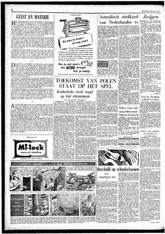 Rotterdamsch Parool / De Schiedammer 1957-01-19