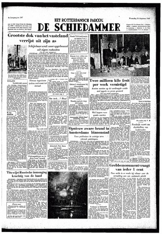 Rotterdamsch Parool / De Schiedammer 1949-08-24